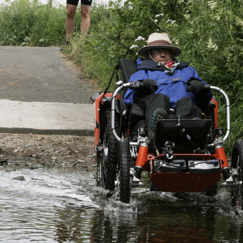 Martin's trek across Devon – on 4 wheels!!