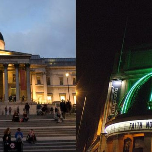 A trip to the National Gallery and the Brixton Academy