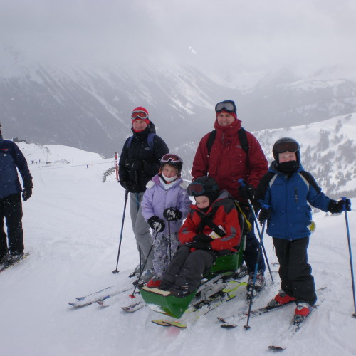 My adaptive ski trip to Whistler