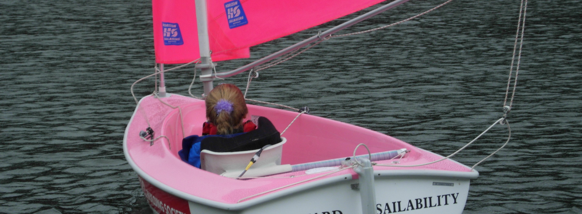 Accessible sailing with Rudyard Sailability
