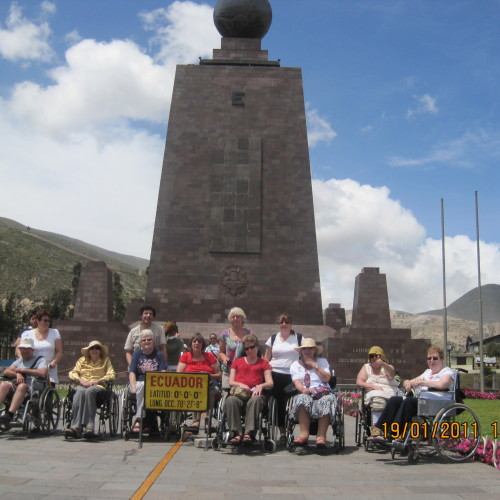 Wings on Wheels adapted holiday to Ecuador