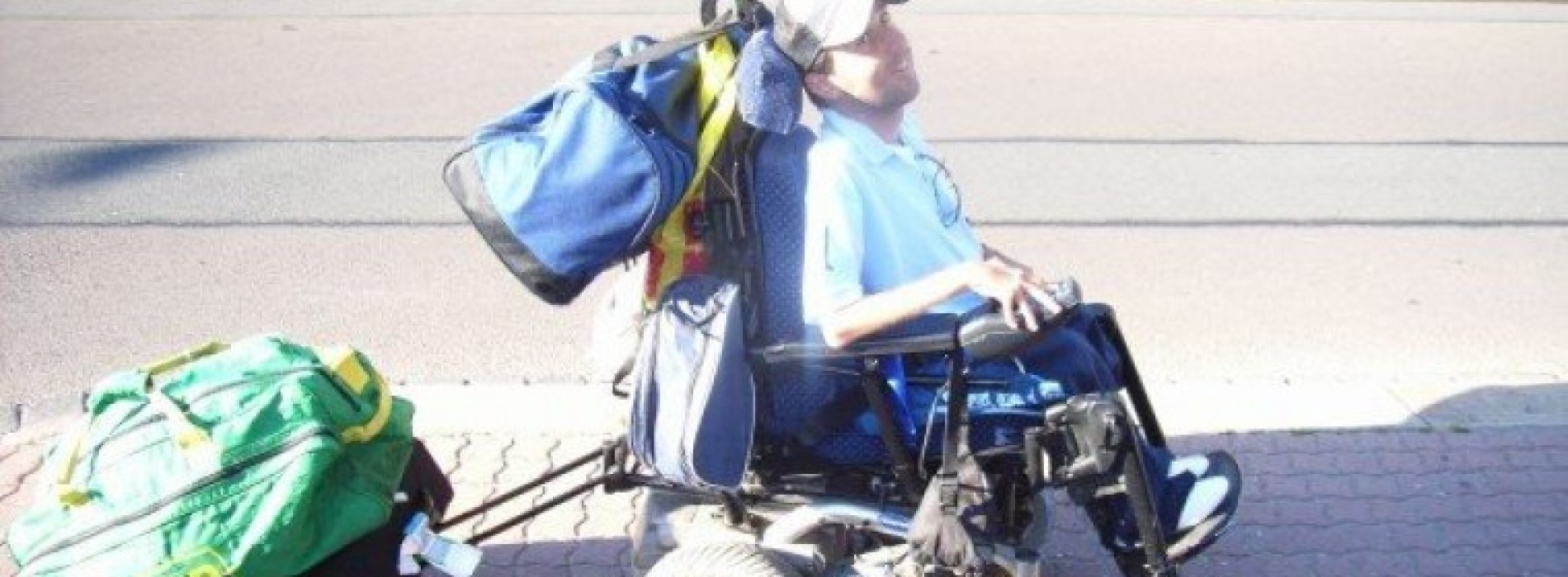 Martyn Sibley: Overcoming my disability to volunteer abroad