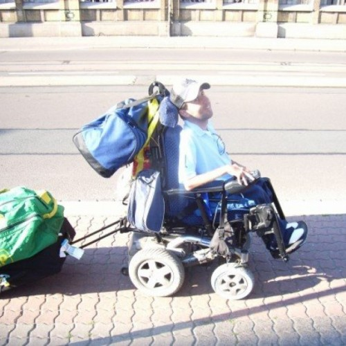 Epic European Disability Roadtrip: never give up