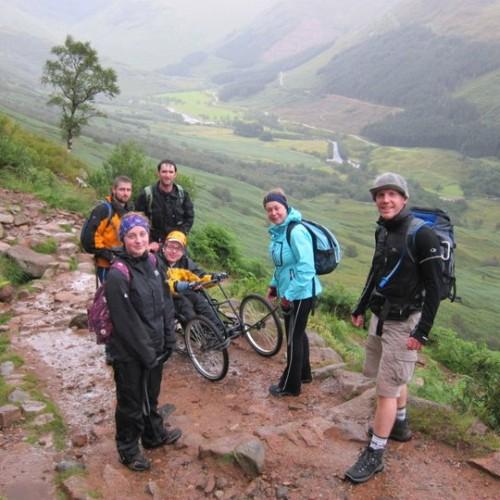 Conquering Ben Nevis in a wheelchair