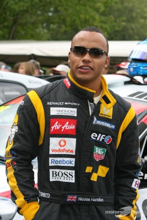 Nicolas Hamilton racing driver | Nicolas Hamilton | Disability Horizons