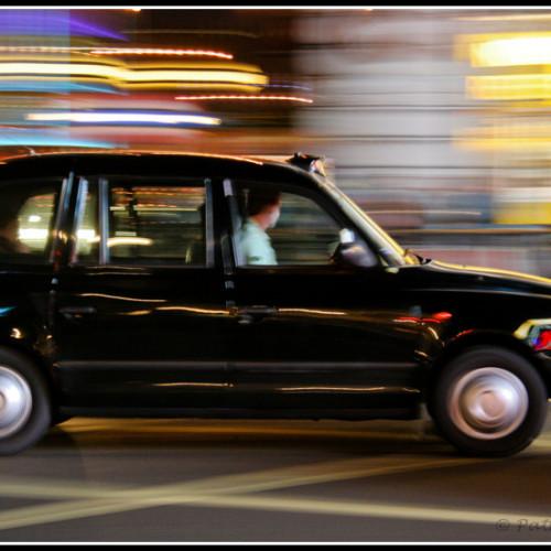 Hailo-ing a cab!