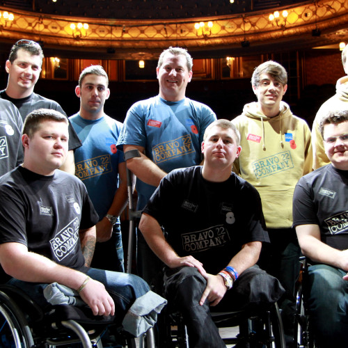 The Two Worlds of Charlie F: helping wounded soldiers through theatre