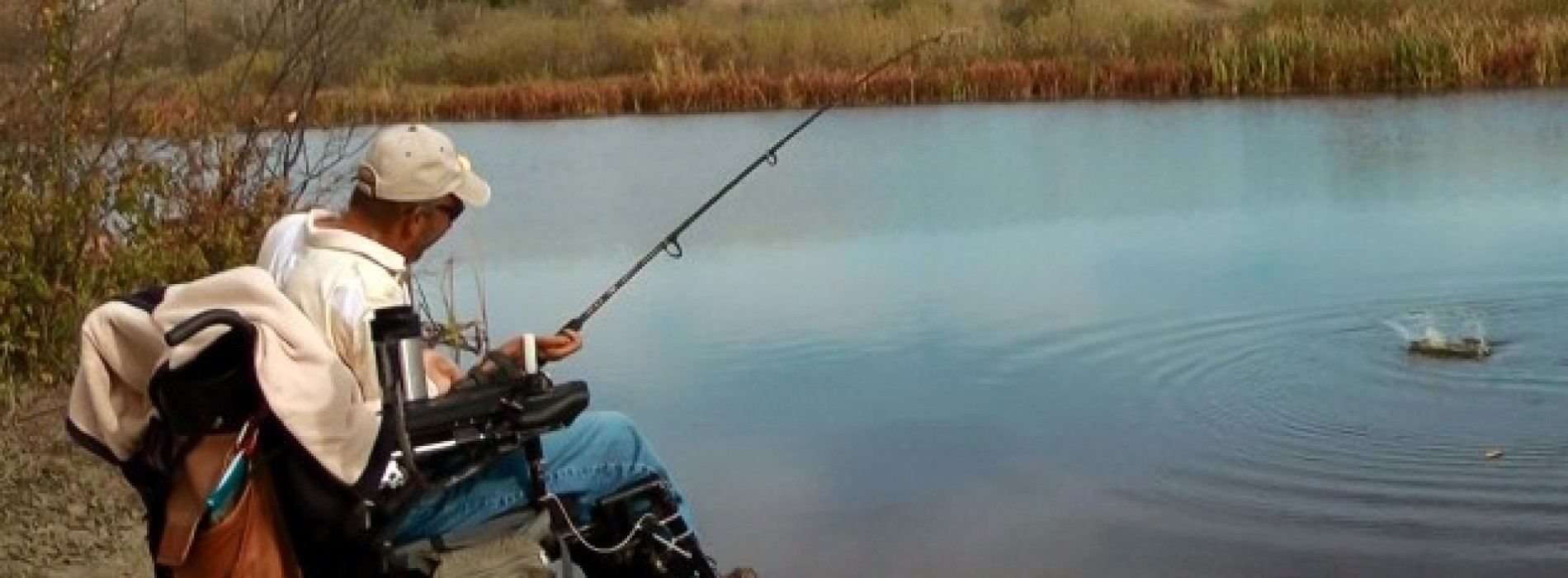 Adaptive fishing in the great outdoors