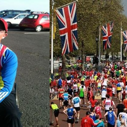 Conquering the London Marathon in a wheelchair