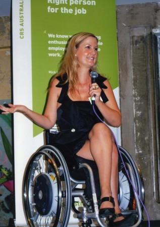 Karni Liddell - Paralympic athlete - Paralympics 2012