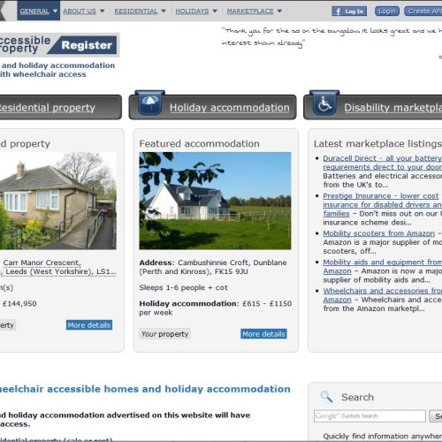The Accessible Property Register