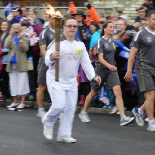 Olympic torch relay: one runner's story