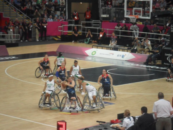 Paralympics women's Wheelchair Basketball