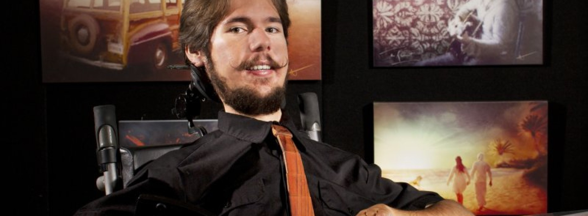 AJ Brockman: Differently abled through digital art