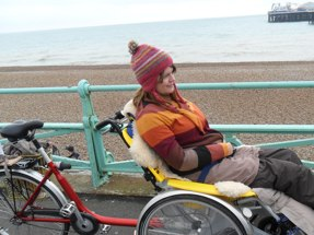 Accessible Brighton wheelchair bike