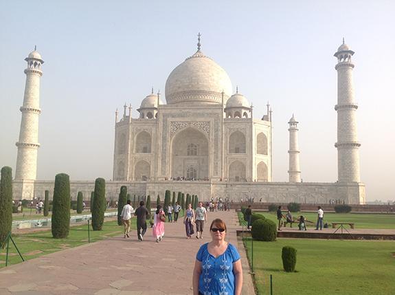 Accessible Taj Mahal