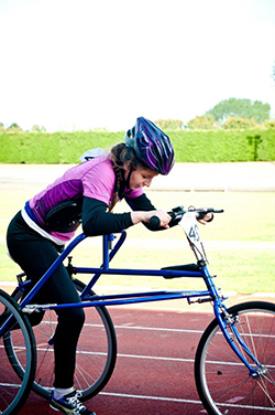 RaceRunning - Hannah in action