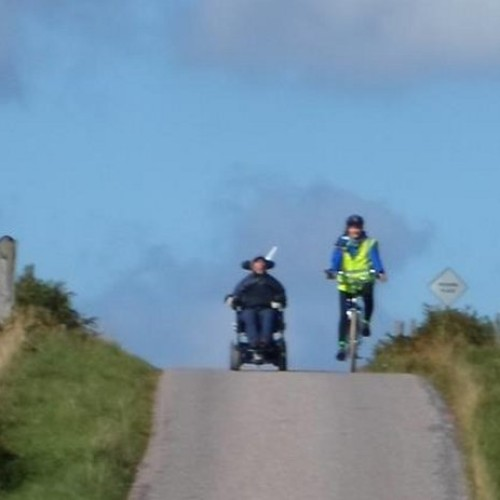 WHAT DISABILITY? Halfway to Land's End