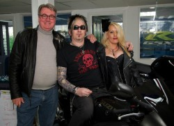 Stuart Gunn blind motorcyclist