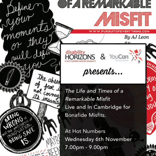 Disability Horizons and YouCan Hub present the Misfits