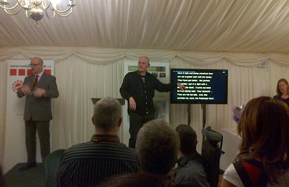 Photo taken on the International Day of People with Disabilities, at the House of Commons