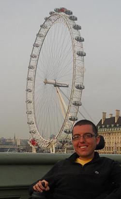 Cory Lee at London Eye