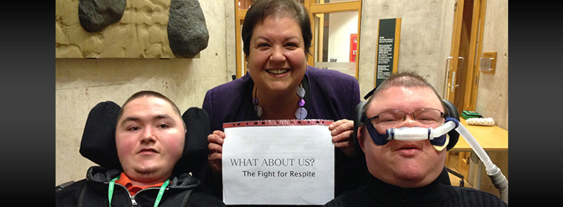 Making waves: taking the adult respite campaign to Parliament
