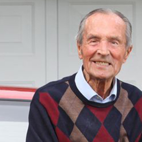Is he Britain's oldest driver?