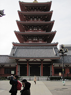Photo of the Sensōji temple