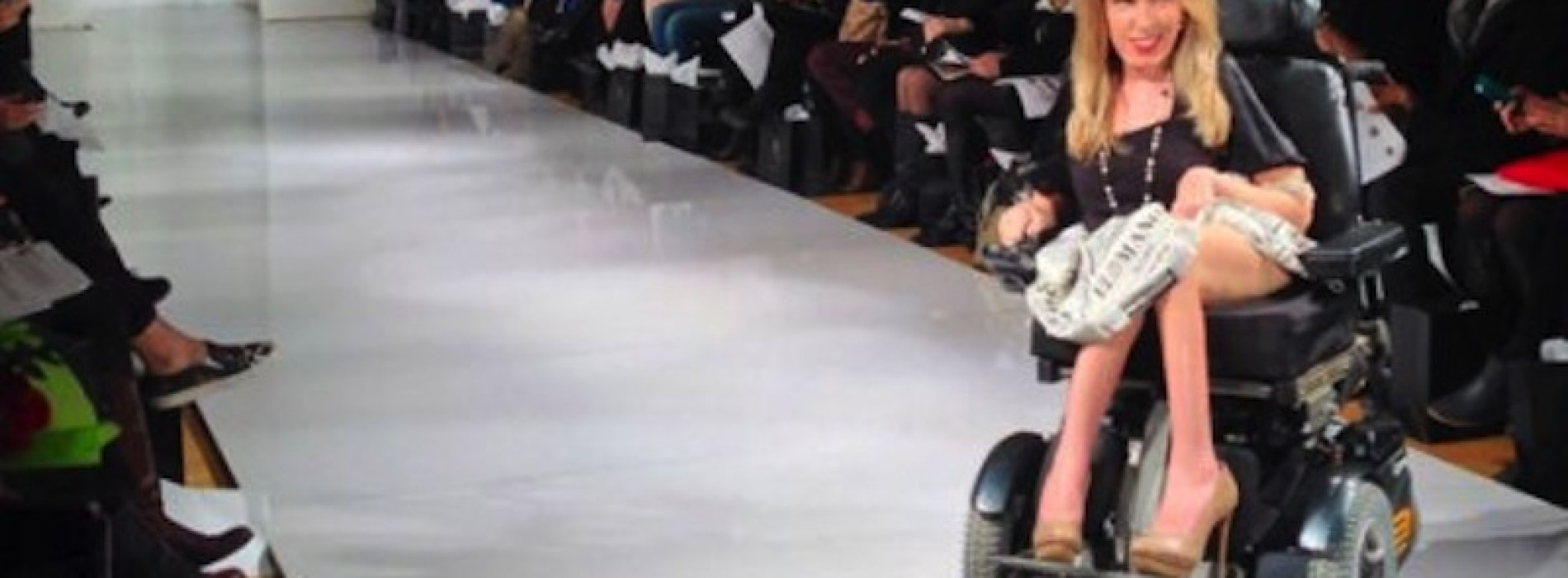 New York Fashion Week: the first runway model in a wheelchair