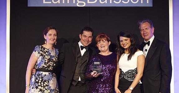 Wirral Autistic Society - award win