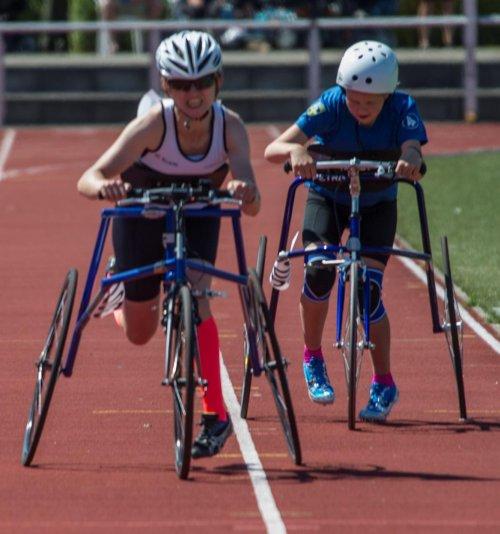 Hannah Dines - Race Running