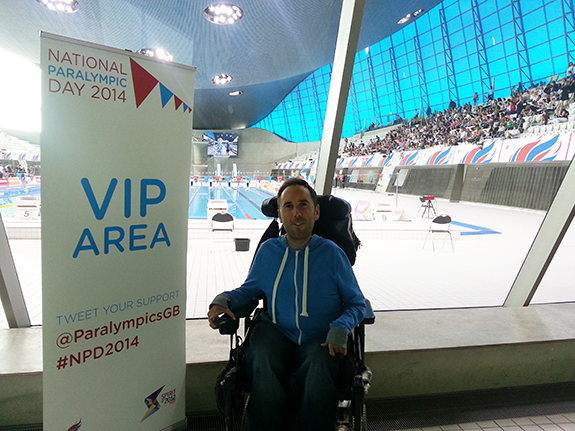 Martyn Sibley - National Paralympic Day 2014