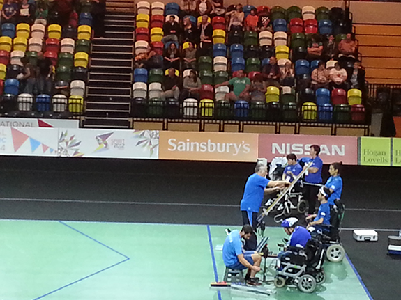 National Paralympic Day 2014 - Boccia