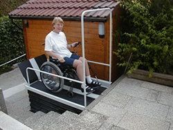 Liftboy wheelchair lift from Power Lift
