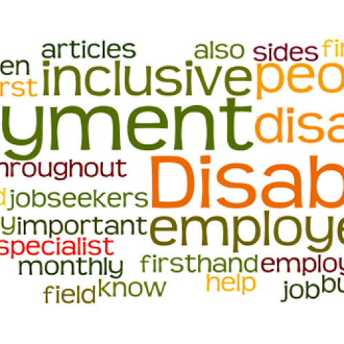 Employment and disability: advantages of being disabled