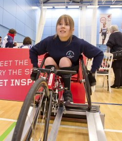 ParalympicGB-disability-sports-event