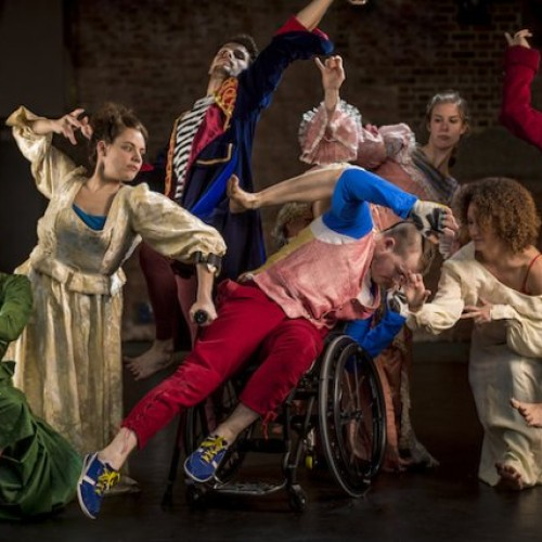 Candoco Dance Company: it's about what you can do not what you can't
