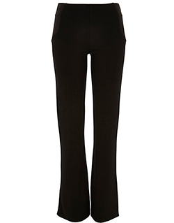 River Island - Black fitted ponte flared leggings - £30