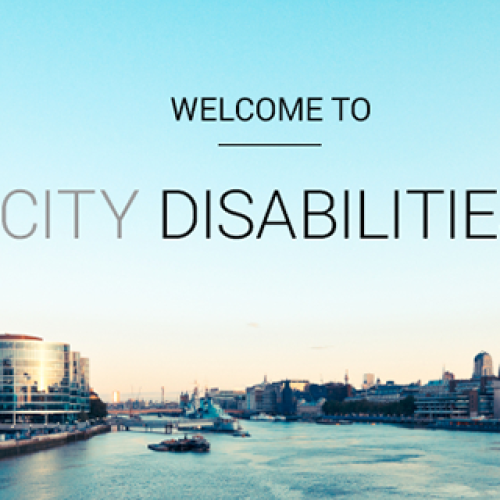 City disabilities: building a career