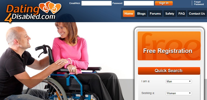 Disabled dating site Dating4Disabled