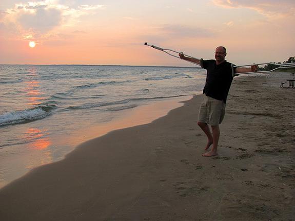 person in beach - Richard BH