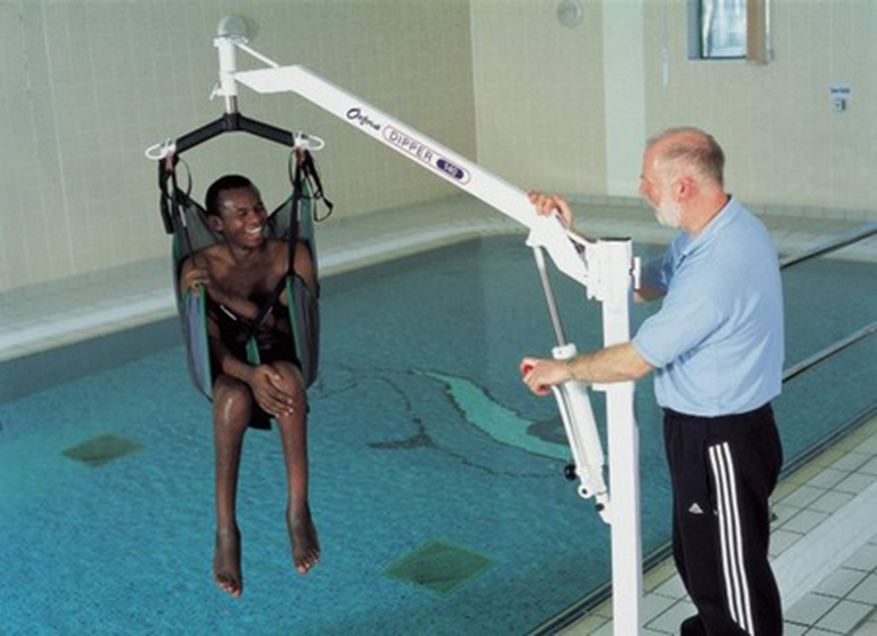 Lift For Disabled Person : Disability and independence water therapy