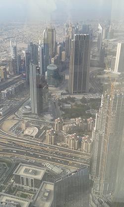 Dubai - Burj Khalifa observation deck