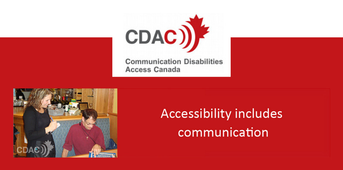 Communication access: the final frontier in accessibility