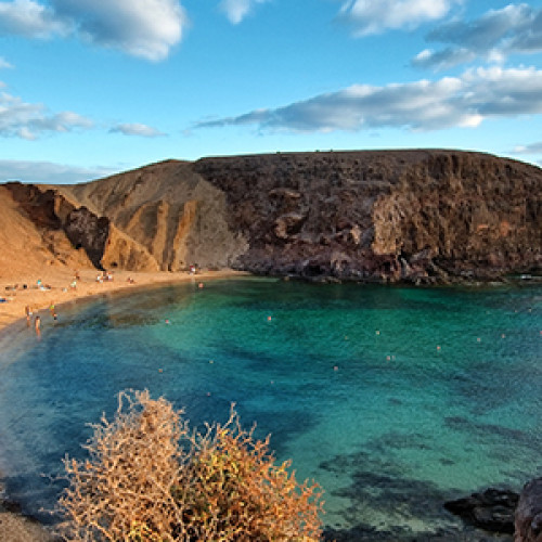 Experience life in lovely Lanzarote