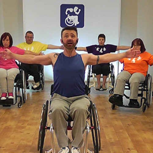 Wheely Good Fitness: exercise customised for wheelchair users