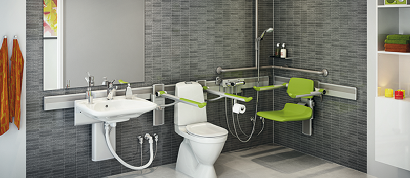 How to create an accessible bathroom for Bathroom for disabled plan