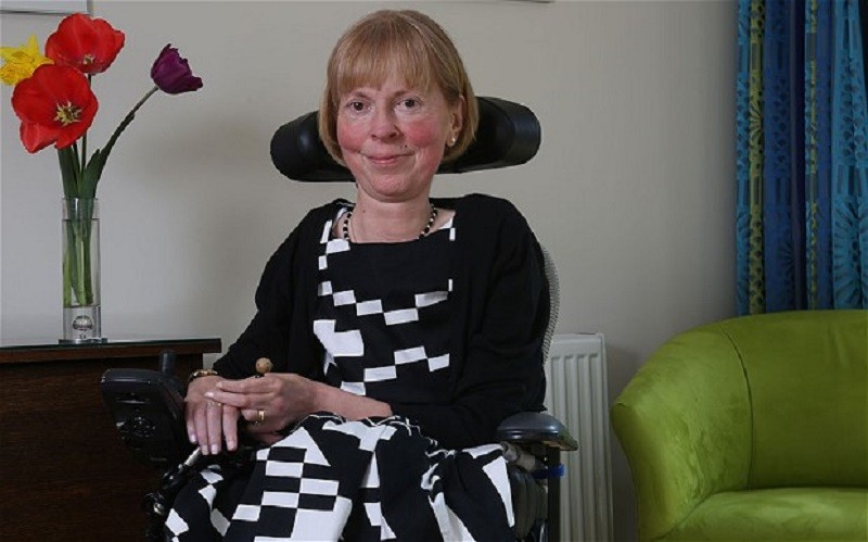 Disabled activist Baroness-Campbell