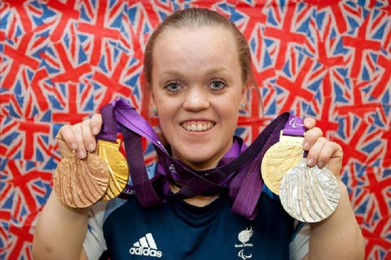 Paralympian Ellie Simmonds